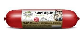 Baton Mięsny dla psa Dzika Polana 70% mięsa 1200g