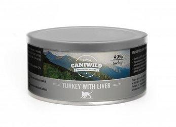Caniwild Turkey with Liver 99% mięsa – puszka z zamykanym wieczkiem – 300 g