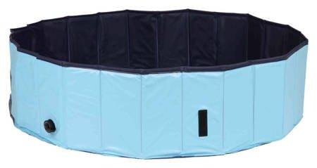Basen dla psa Składany mały basen dla psów 80x20cm