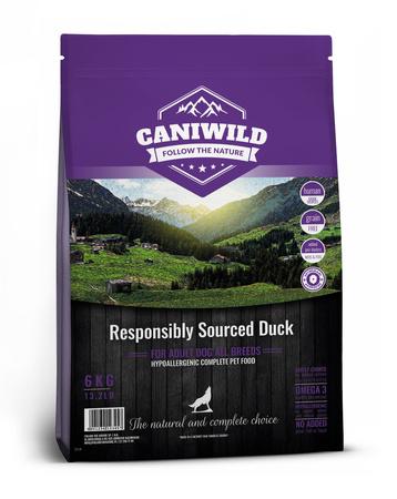 Caniwild Adult Freshly Prepared British Duck 12kg Kaczka