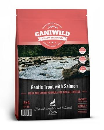 Caniwild Light and Senior Gentle Trout with Salmon próbka 100g Łosoś i Pstrąg