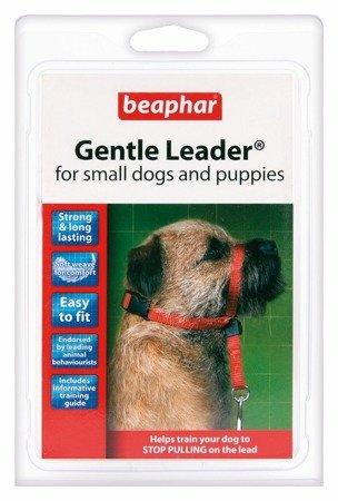 Kantar, obroża uzdowa dla psów małych ras Holter Gentle Leader czerwona
