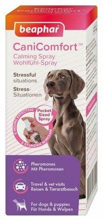 Kieszonkowy spray behawioralny z feromonami dla psa CaniComfort Spray 30ml