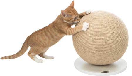 Kula do drapania dla kotów, drapak z juty - duża piłka do drapania dla kota