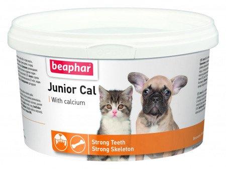 Preparat witaminowo - mineralny dla szczeniąt i kociąt Junior Cal 200g