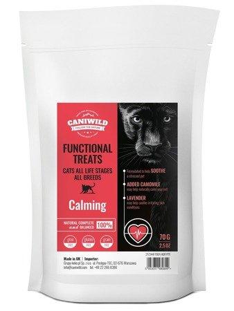 Przysmaki uspokajające Caniwild Cat Calming Treats 70g