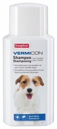 Szampon przeciw pchłom i pasożytom dla psa Vermicon 200 ml