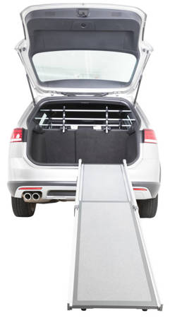 Teleskopowa, regulowana rampa, podest do wchodzenia i wychodzenia psa z auta 100-180cmx43 cm - do 120 kg