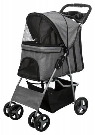 Wózek dla psa, kota na czterech kołach Wózek spacerowy
