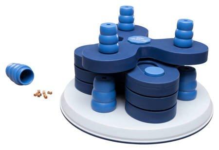 Zabawka interaktywna edukacyjna dla psa Wieża do ukrywania smakołyków